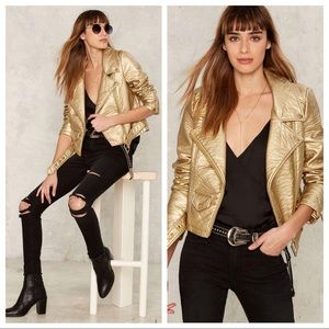 Nasty Gal Show me the Honey Moto Jacket - Vegan